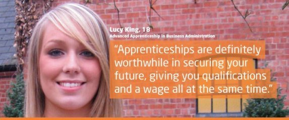 business and administration apprenticeship
