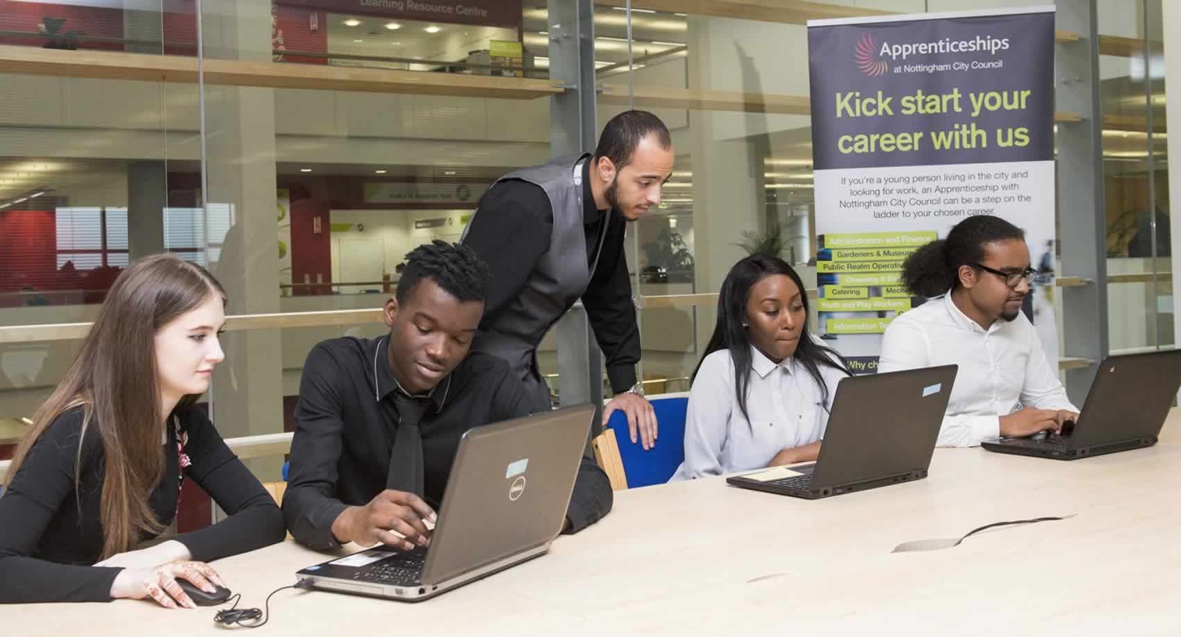 apprenticeships in Nottingham