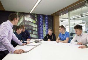 Arup Apprenticeships talking