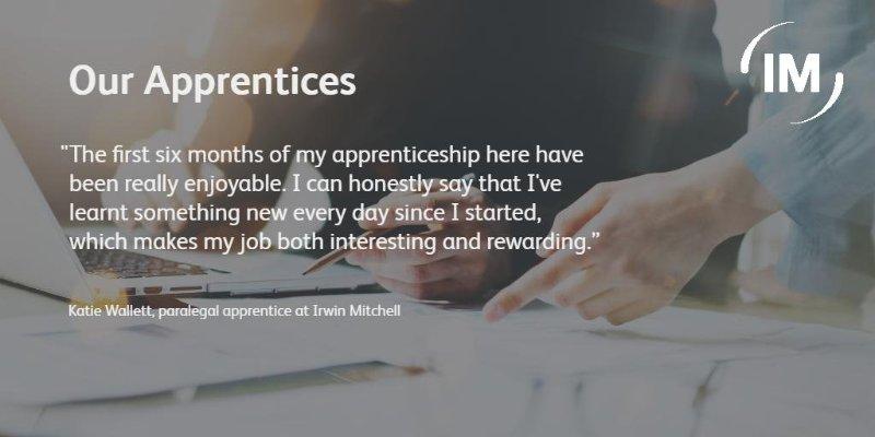 Irwin Mitchell Apprenticeship