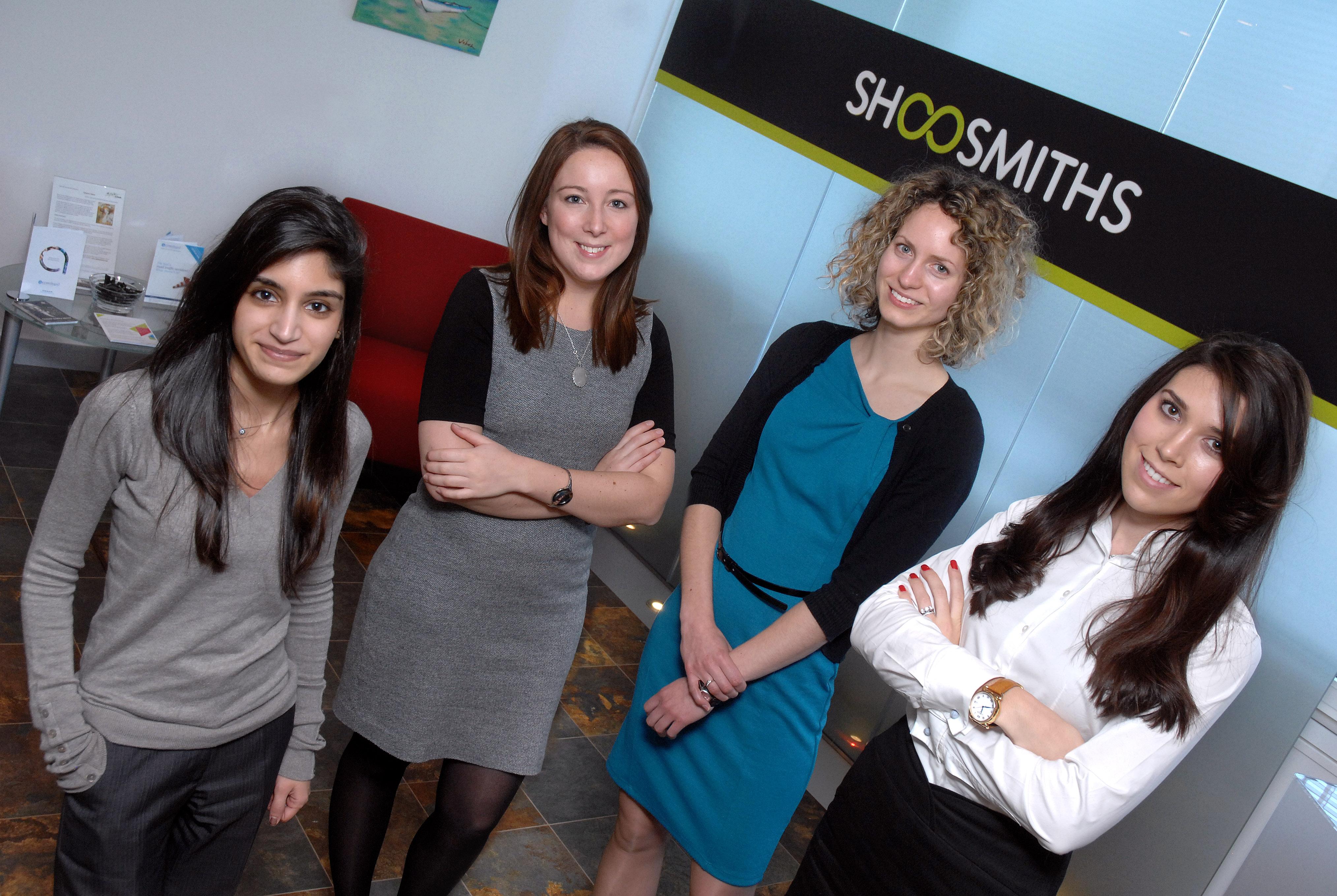 Shoosmiths Apprenticeship - The Apprentices
