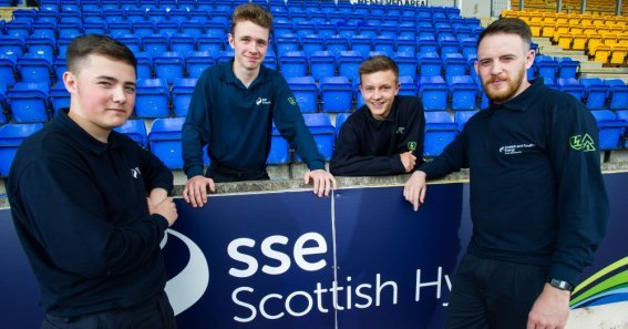 young apprentices that work for SSE