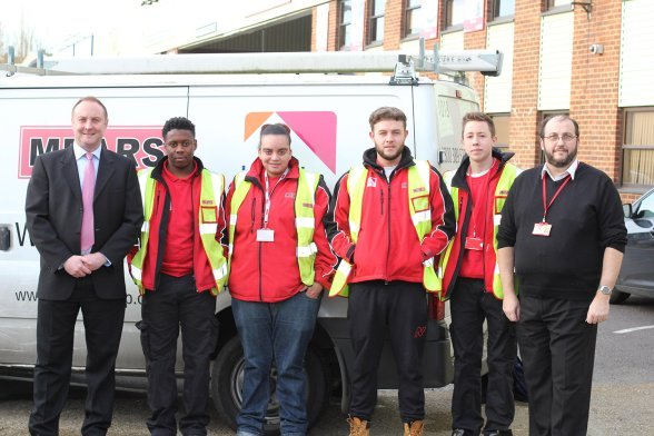 Mears Apprenticeships new young apprentices