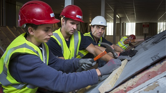CITB Apprenticeships Apprentices work on construction site