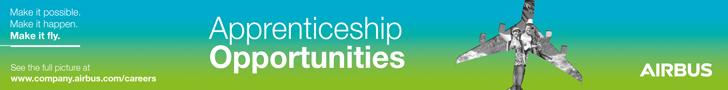 Airbus apprenticeship leaderboard banner