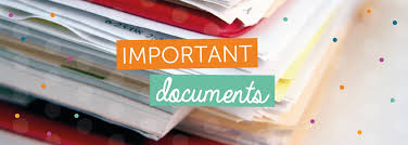 Important documents - what should i take to university