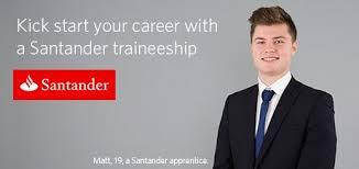 Santander apprenticeships