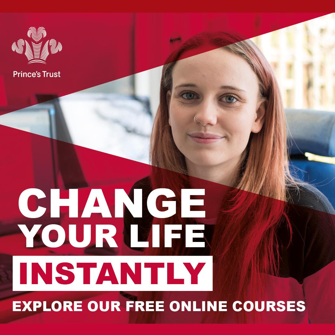Princes Trust Courses, free online courses
