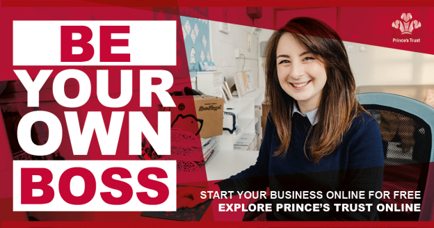 Princes Trust Courses, be your own boss