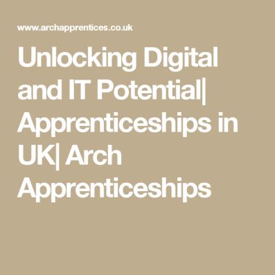 Arch Apprenticeships