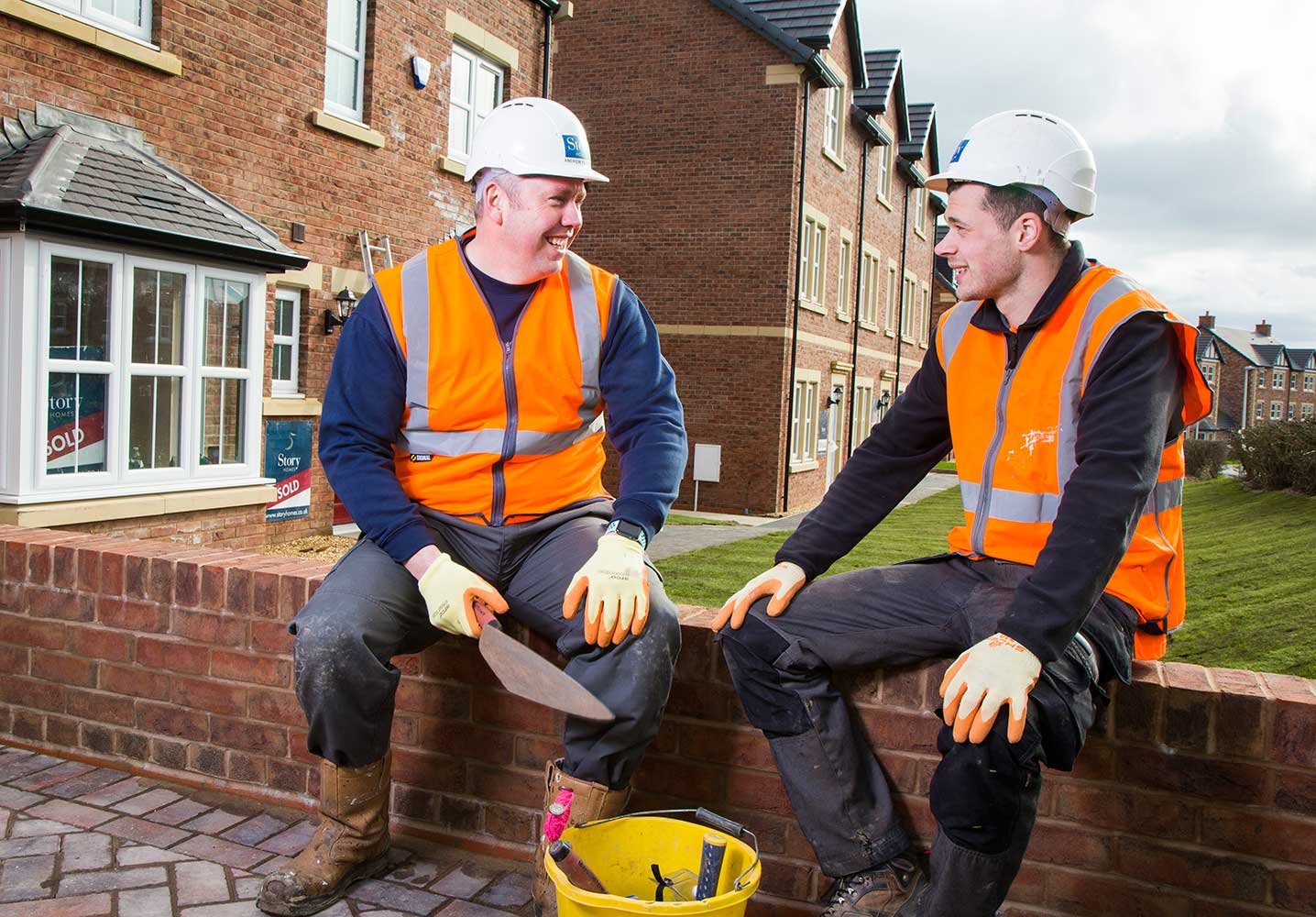 story homes apprenticeships bricklaying