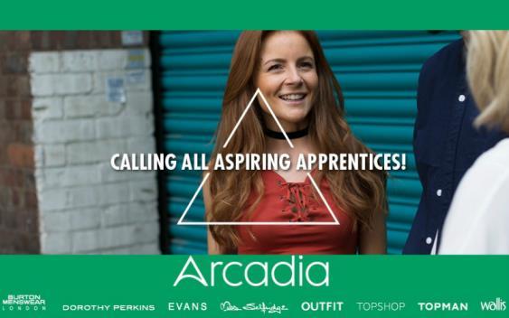 Arcadia apprenticeships