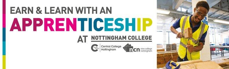 Nottingham college apprenticeships