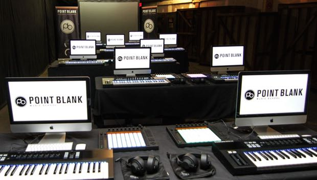 Point blank music school course