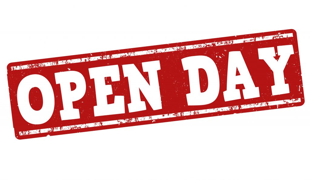 Open Day graphic
