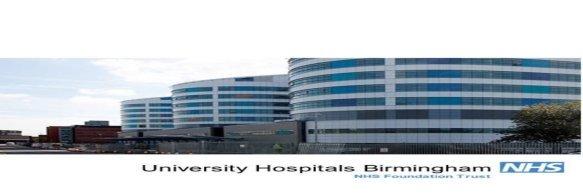 university hospitals Birmingham apprenticeships