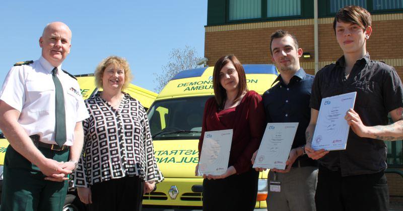 west midlands ambulance service apprenticeships