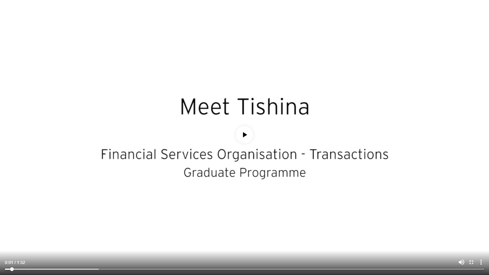 EY Graduate Programme