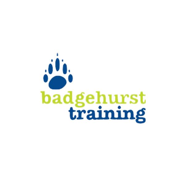 Badgehurst training logo