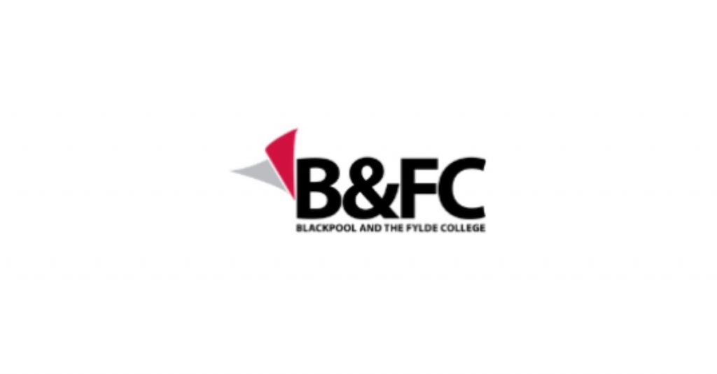 Blackpool and Fylde college logo