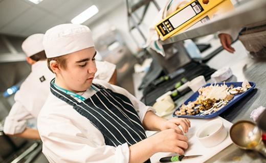 Bath college apprenticeships professional cookery
