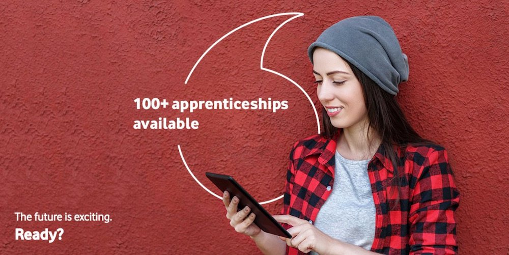 vodafone apprenticeships
