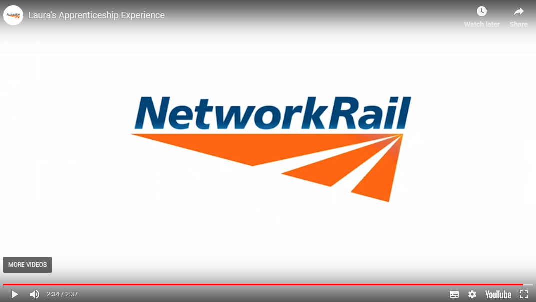 Network Rail Laura
