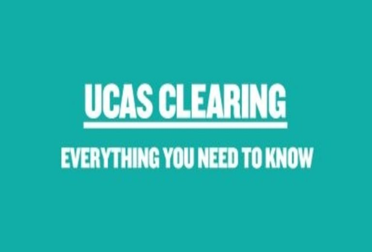 UCAS Clearing banner