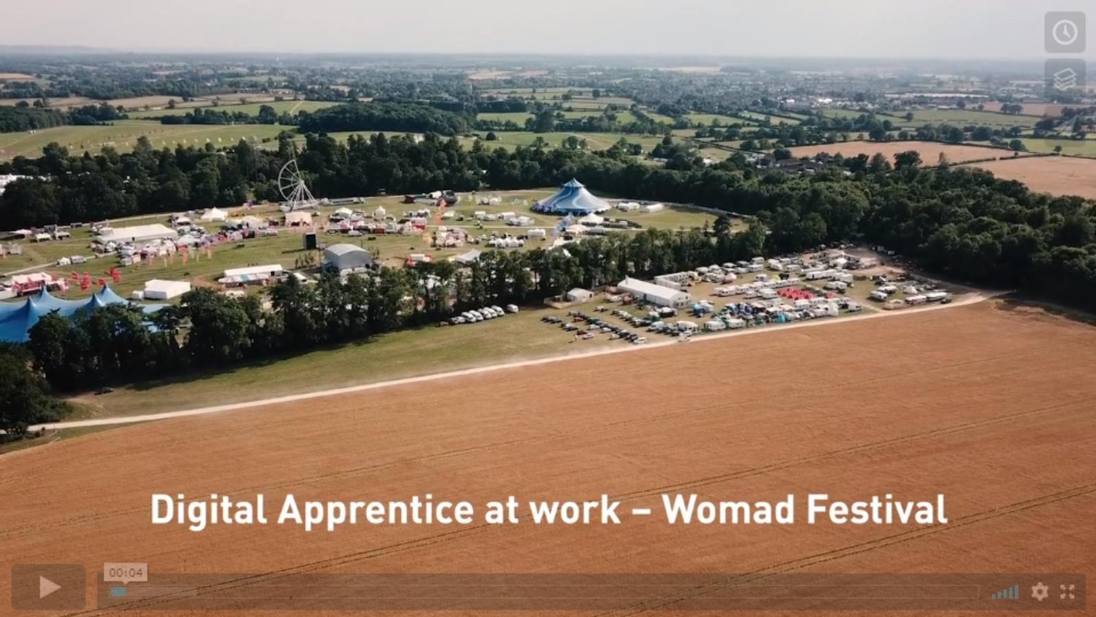 Womad Festival Digital apprentice