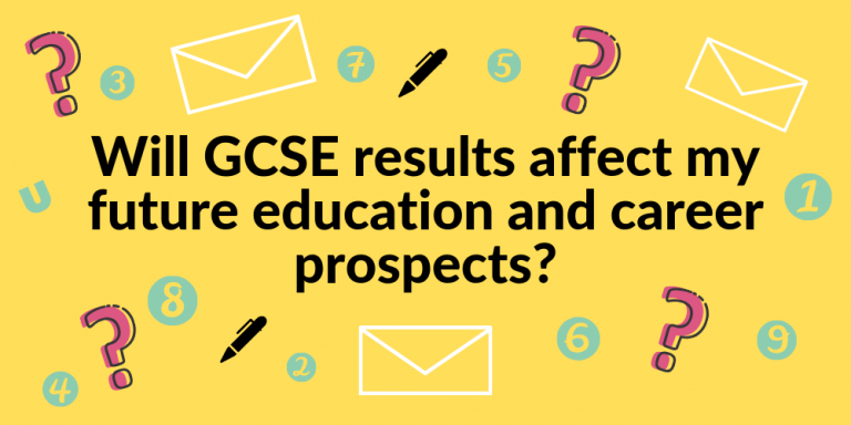 Will GCSE results affect my future education and career prospects_