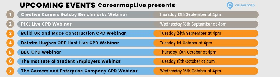 CPD webinar upcoming events