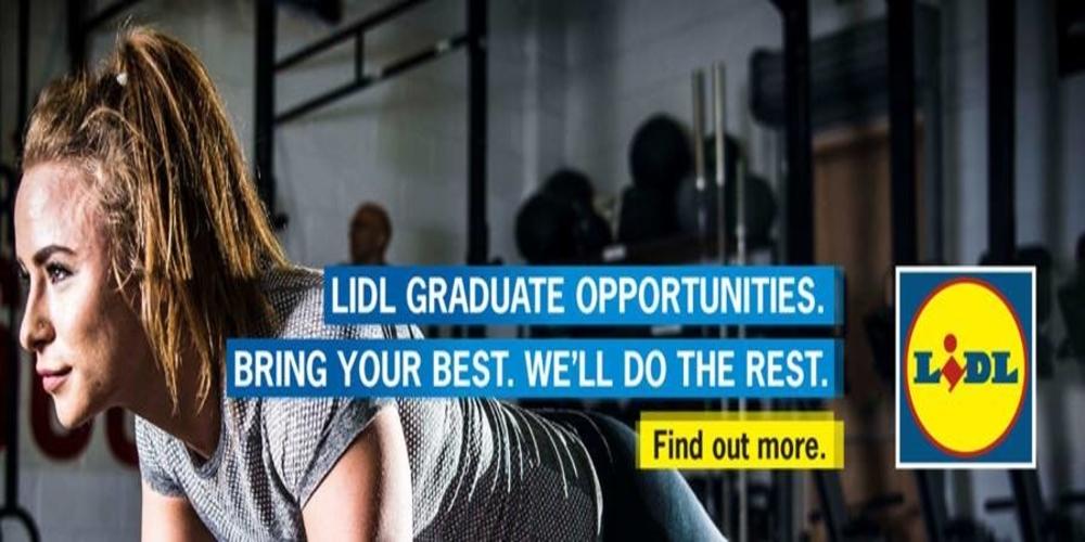 Lidl Graduate Scheme header