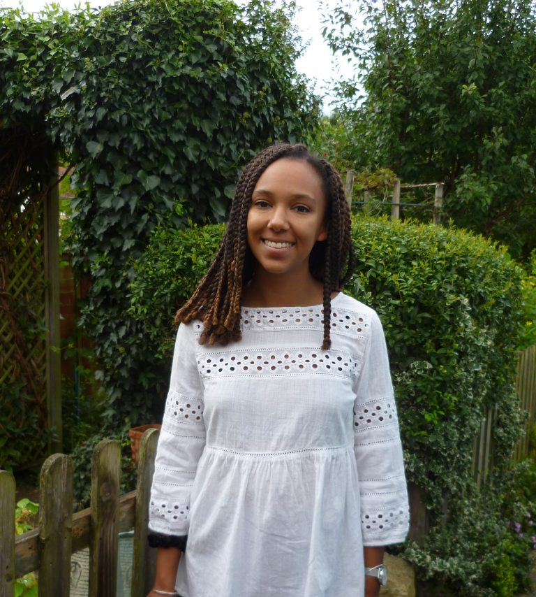 Graduate jobseeker Rosie Okumbe