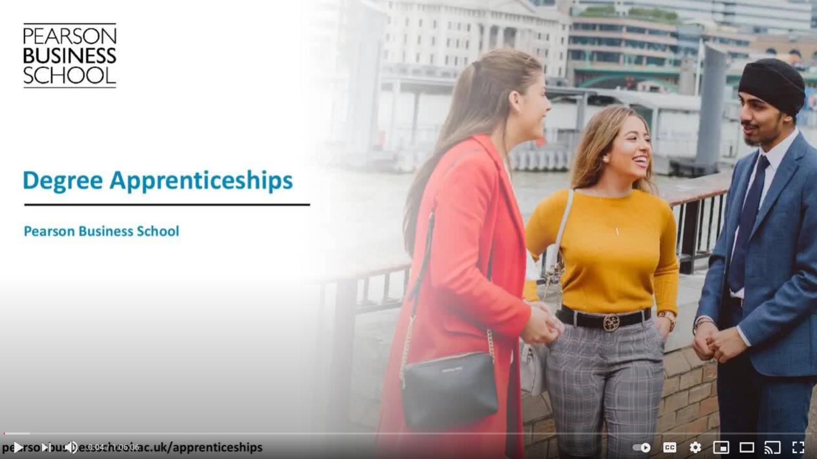 Pearson College London Apprenticeships