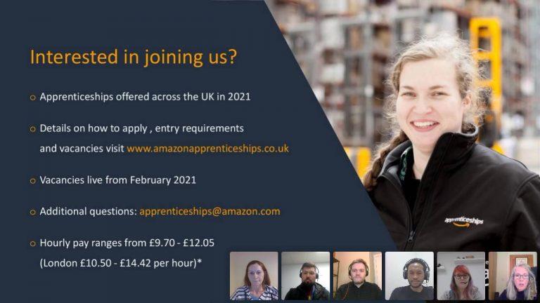 Amazon apprenticeships