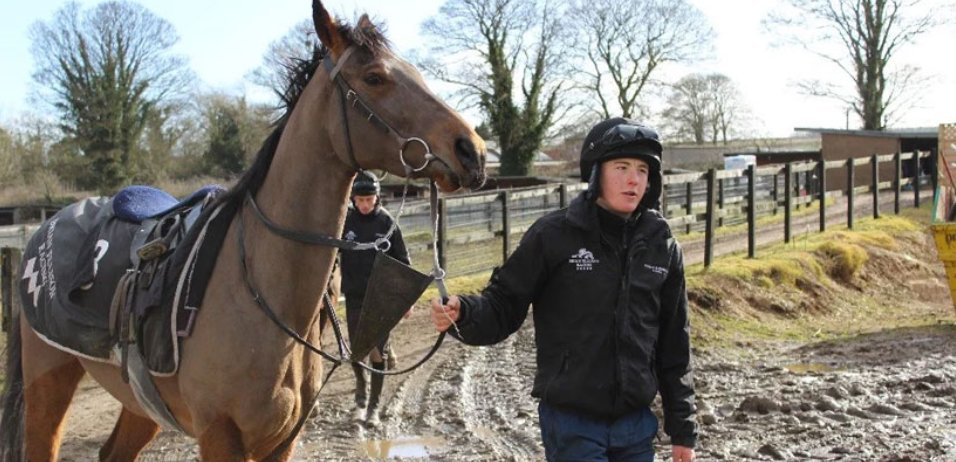 Jack Cross with horse