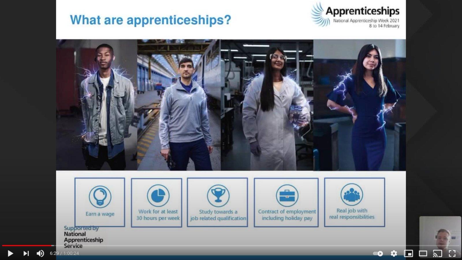 Department for Education Apprenticeships
