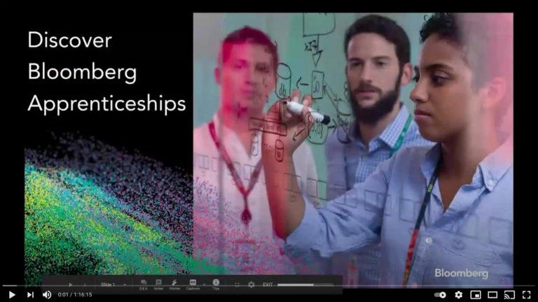 Bloomberg Apprenticeships