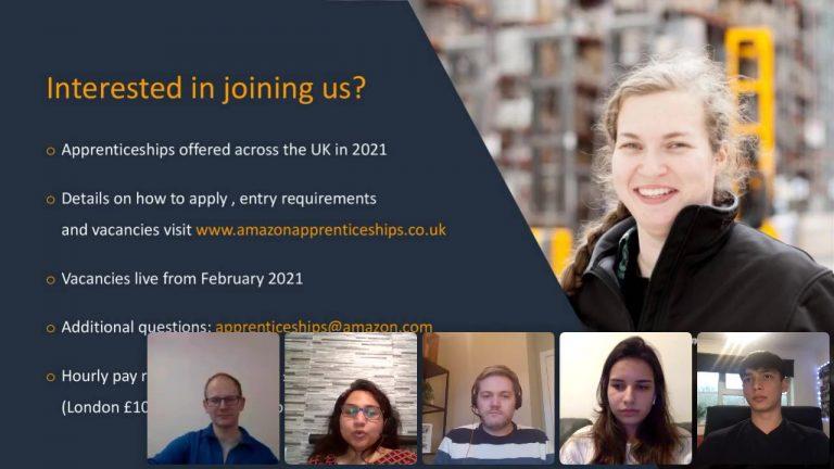 Amazon Apprenticeship Software Development