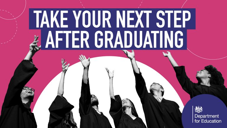 Government poster for graduates