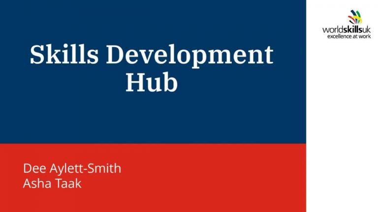 WorldSkills UK Free Learning Resources from Skills Development Hub