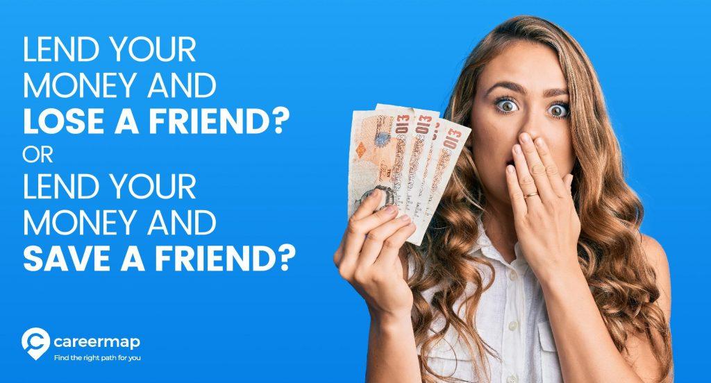 Lending money to a friend