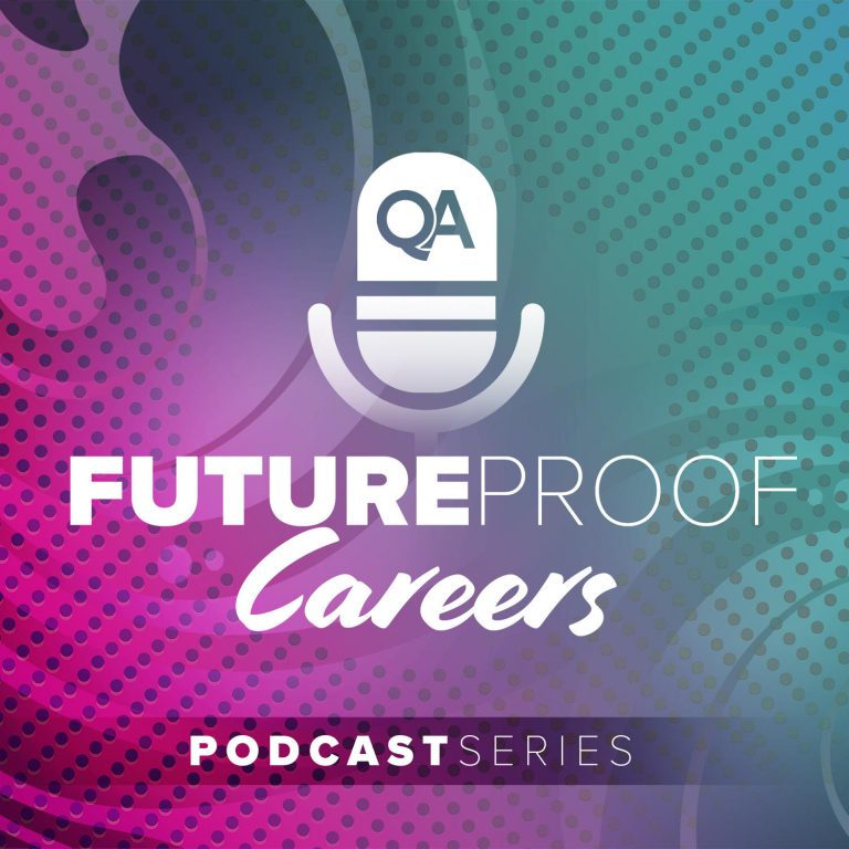 QA Future proof podcast series logo