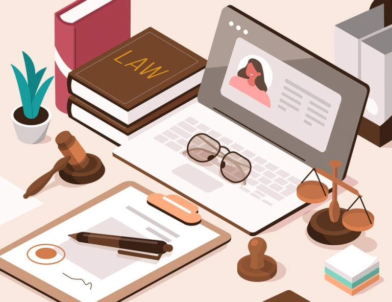 legal services careers concept