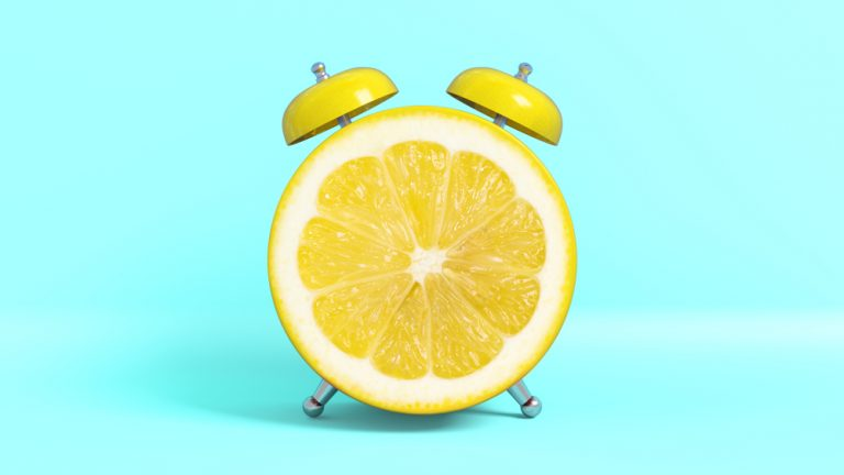 When life gives you lemons concept