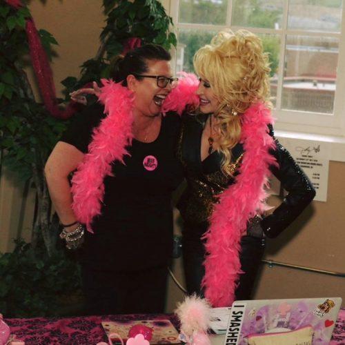 Helen Smith and Dolly Parton